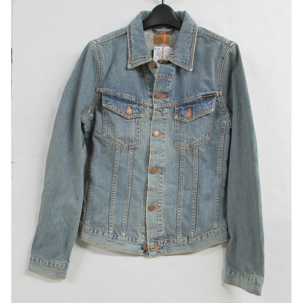 【中古】Nudie Jeans ヌーディージーンズ デニムジャケット Sサイズ タグあり【橿原店】【H】