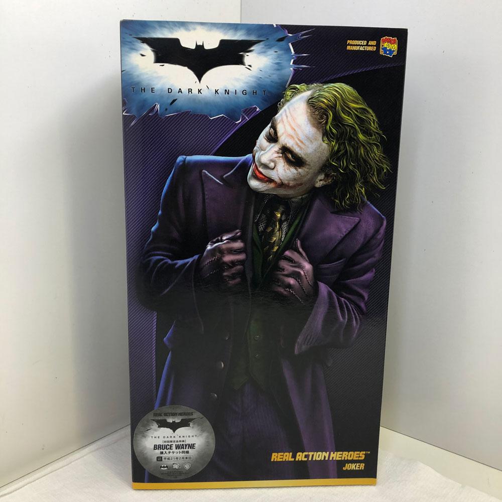【中古】メディコム・トイ REAL ACTION HEROES BATMAN BEGINS JOKER バットマン ビギニンズ ジョーカー 【橿原店】【H】