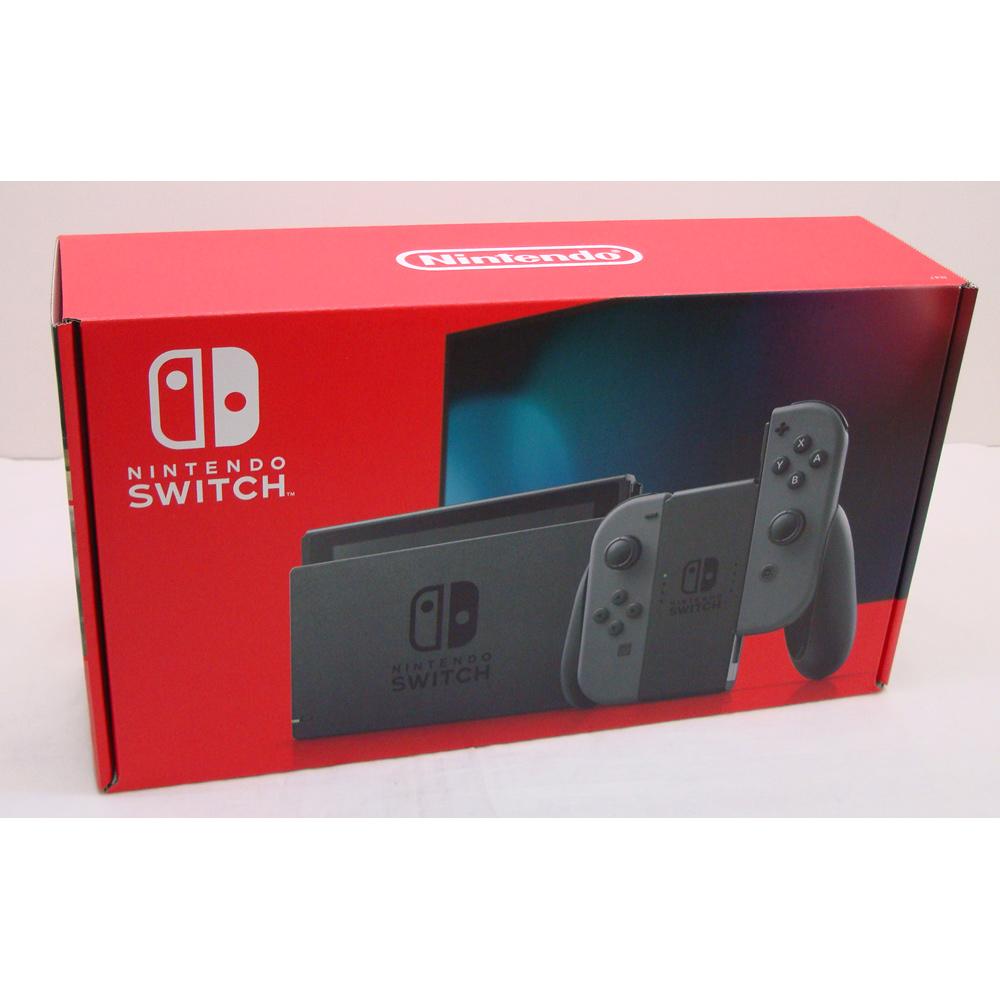 <title>中古 未使用 Nintendo Switch 本体 JOY-CON グレー 新モデル 2020新作 購入印あり 橿原店 H</title>