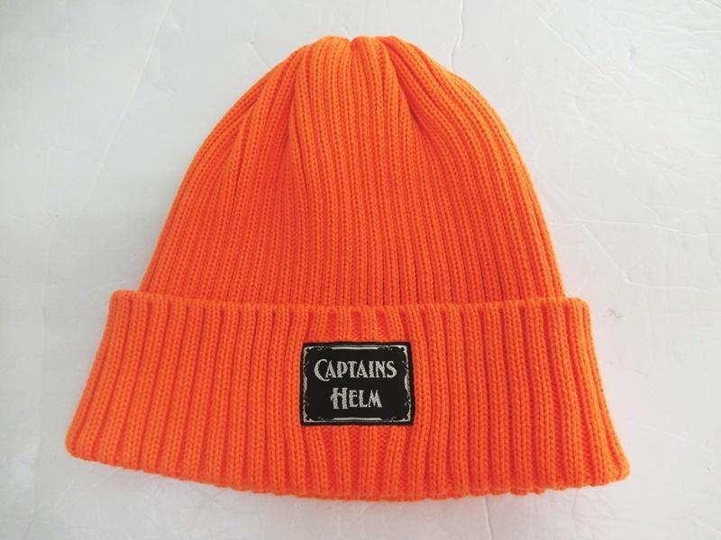 【中古】CAPTAINS HELM キャプテンズ ヘルム MIX WATCH CAP ニットキャップ オレンジ サイズ:FREE【出雲店】