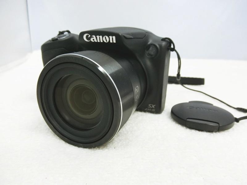【中古】Canon/キャノン デジタルカメラ PowerShot/パワーショット SX430 IS Wi-Fi 2,000万画素【出雲店】