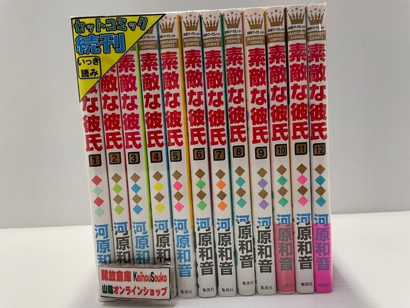 鳥取店は土 日 祝日の対応ができません 返品交換不可 予めご了承下さい 中古 鳥取店 1-12巻セット コミック 素敵な彼氏 売却
