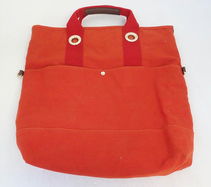 米子店は注文確定から1~3日程度で発送致します 中古 vivienne westwood ヴィヴィアン ウエストウッド 2way 米子店 卓抜 新商品 キャンバス 赤 ショルダーバッグ 鞄 バッグ