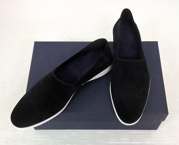 gmf-181210002004 中古 受注生産品 jun hashimoto ジュンハシモト FARUK ビブラムソール シューズ スウェードスリッポン 靴 米子店 開店祝い