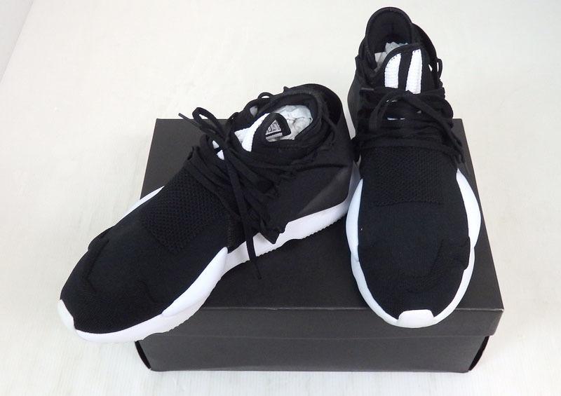 米子店は注文確定から1~3日程度で発送致します 中古 Y-3 ワイスリー Yohji yamamoto ヨウジヤマモト adidas アディダス F97424 米子店 KNIT カイワニット スニーカー オンラインショップ KAIWA 27.5cm 靴 当店限定販売