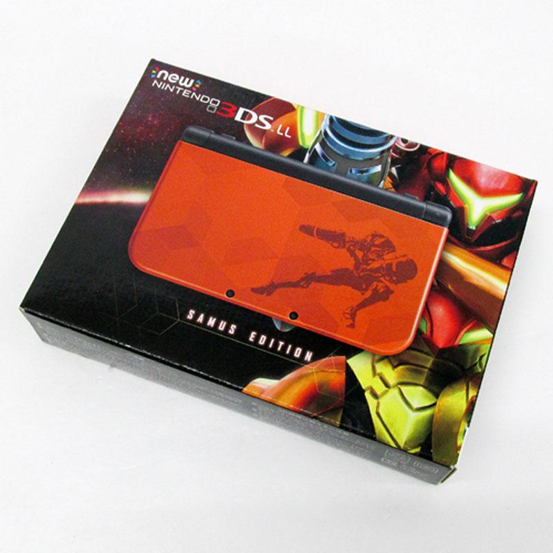 【中古】任天堂 Newニンテンドー3DS LL サムスエディション/任天堂ストア限定商品/Nintendo【3DS LL 本体】【ゲーム】【山城店】
