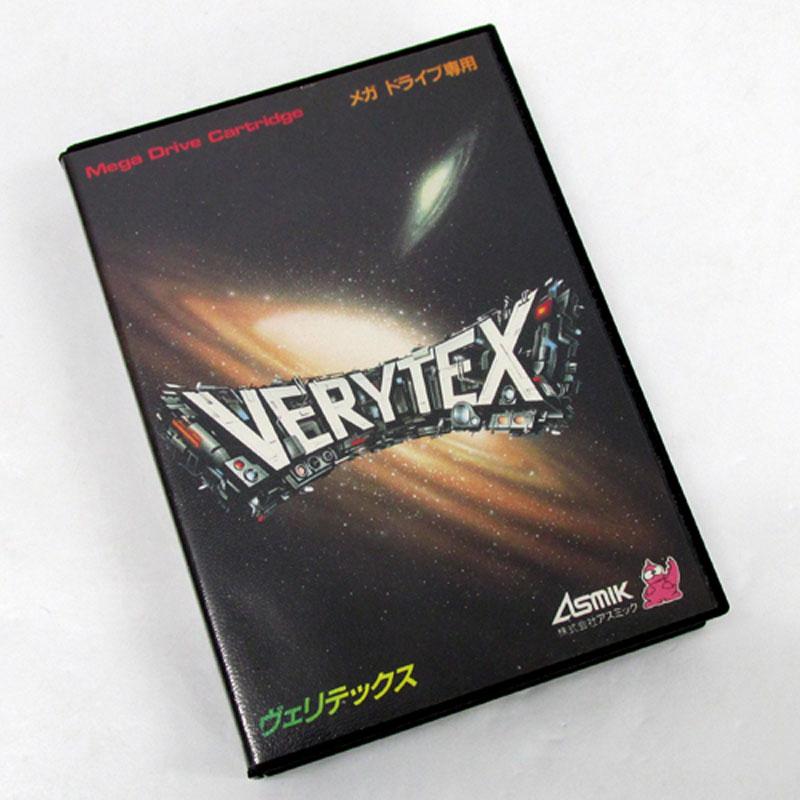 【中古】《レトロ》ヴェリテックス VERYTEX【メガドライブ ソフト】【ゲーム】【山城店】