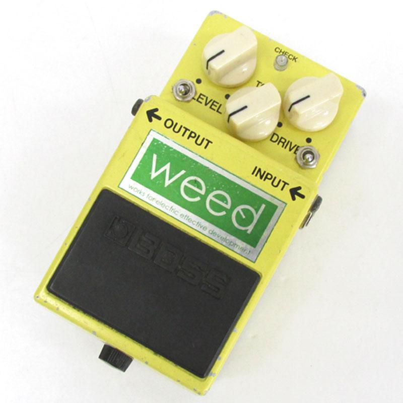 【中古】Weed Mad Boss ウィード SD-1/Double Sw Mad エフェクター ギター用 オーバードライブ【楽器】【山城店】