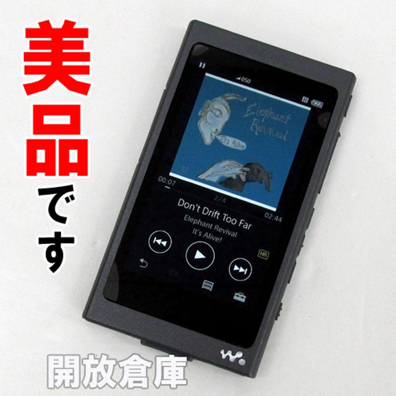 【中古】 SONY ウォークマン Aシリーズ 16GB ブラック NWA35BM 【SN : 5149267】【ポータブルプレイヤー】【DAP】【山城店】