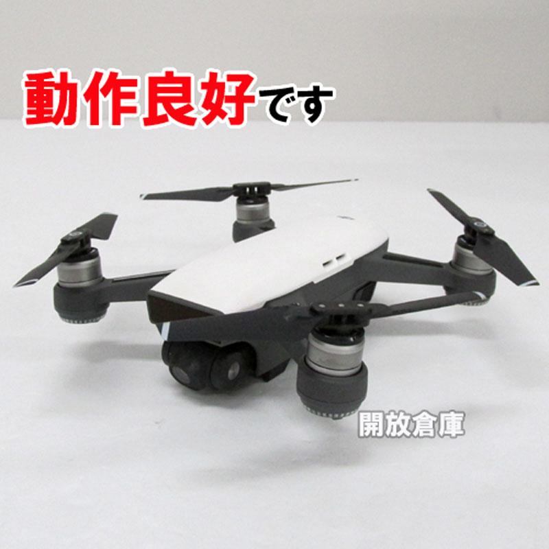 【中古】 DJI SPARK Fly More Combo 【高性能ミニドローン アルペンホワイト】【製造番号 : 0ASUF1K00100C1】【山城店】