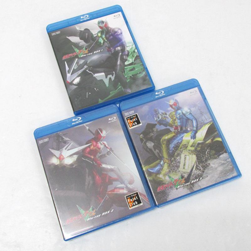 【】《Blu-ray》仮面ライダーW(ダブル) Blu-rayBOX 全3巻セット (通常版) /特撮ブルーレイ【DVD部門】【山城店】