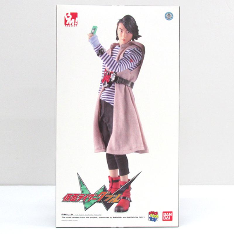【中古】バンダイ プロジェクトBM! 仮面ライダーW フィリップ 【おもちゃ】【山城店】