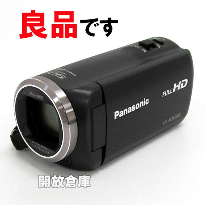 【中古】 Panasonic HC-V360MS 【HDビデオカメラ 16GB ブラック】【製造番号 : DJ6KB004392】【山城店】, アスリート ステージ:ab1edf07 --- ikorea.jp