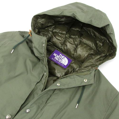 f7198e2e2 THE NORTH FACE PURPLE LABEL the North Face purple label HoodedDownCoat  hooded down coat / outdoor