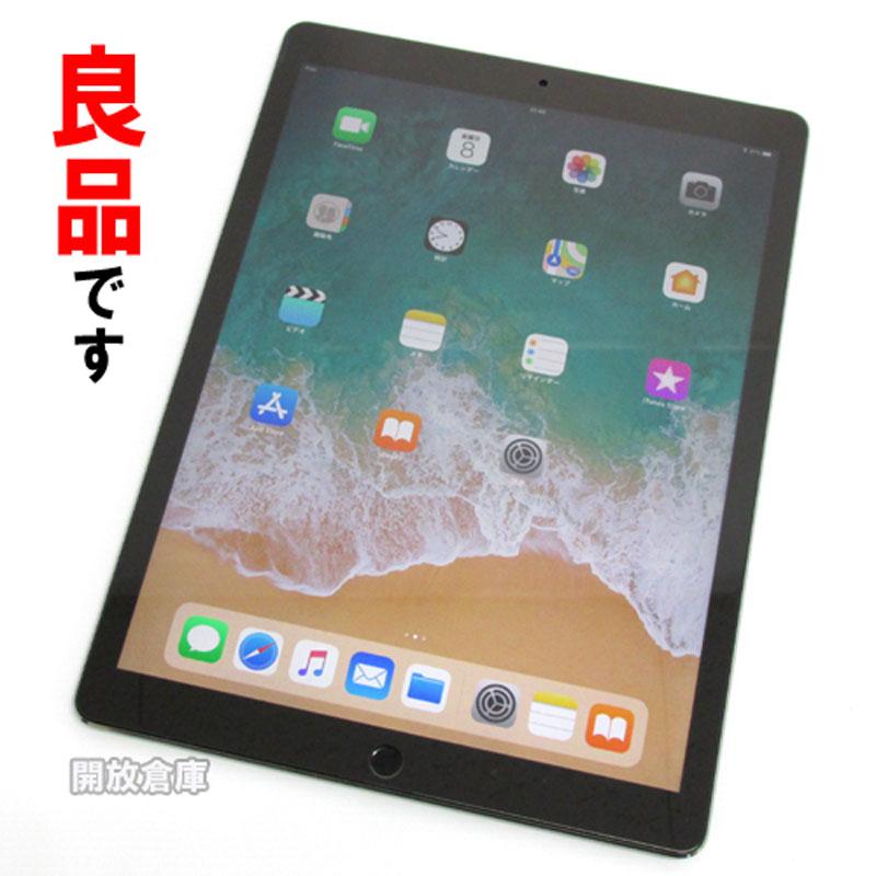 【中古】 Apple iPad Pro Wi-Fiモデル 12.9インチ 128GB スペースグレイ ML0N2J/A【DLXR117JGMLL】【iOS 11.1.2】【タブレットPC】【山城店】