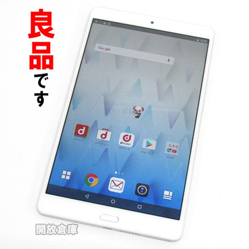 【中古】 docomo Huawei dtab Compact d-01J シルバー【白ロム】【862223035452767】【利用制限: ○】【Android 6.0】【タブレットPC】【山城店】