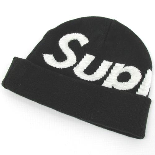 【中古】【メンズ古着】Supreme シュプリーム Big Logo Beanie ビッグロゴビーニー/帽子【山城店】