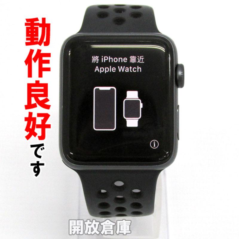 【中古】 Apple MQMF2J/A 【Apple Watch Series 3 Cellular Nike+ 42mm (3rd gen)】【製造番号 : 359440081429636】【山城店】