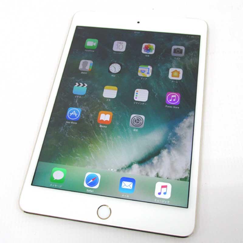 【中古】 docomo版 iPad mini4 Wi-Fiモデル 32GB ゴールド MNWG2J/A 【利用制限:○】【iOS 10.1.1】【タブレットPC】【山城店】