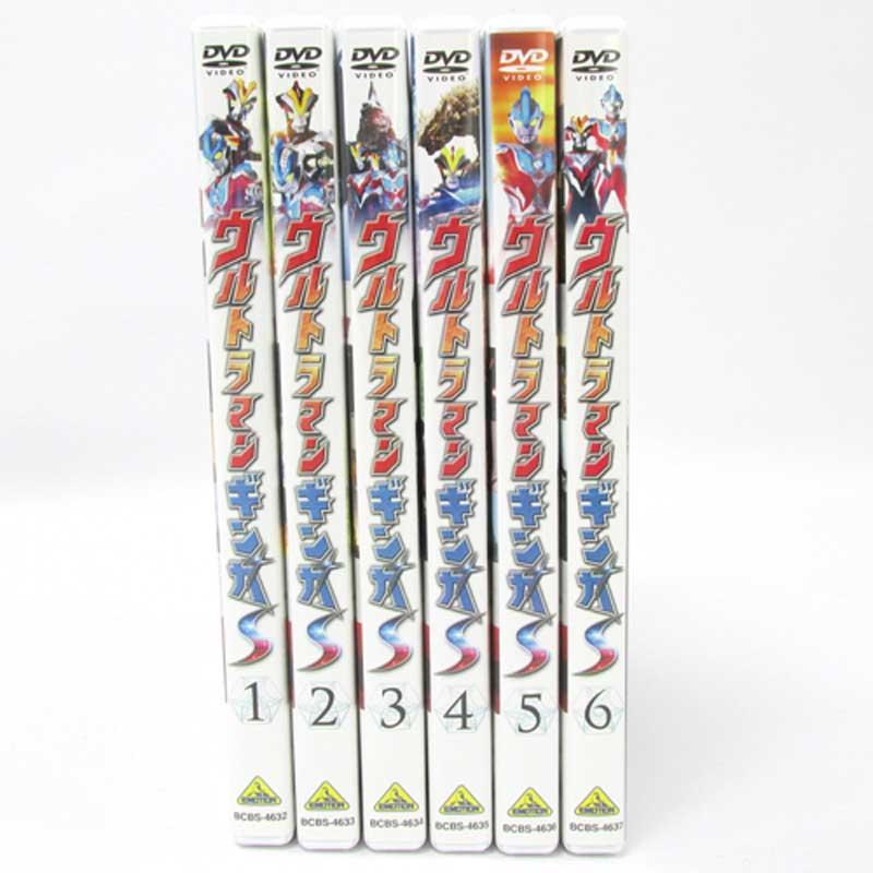 【中古】《DVD》ウルトラマンギンガS 全6巻セット / アニメ特撮DVD【DVD部門】【山城店】