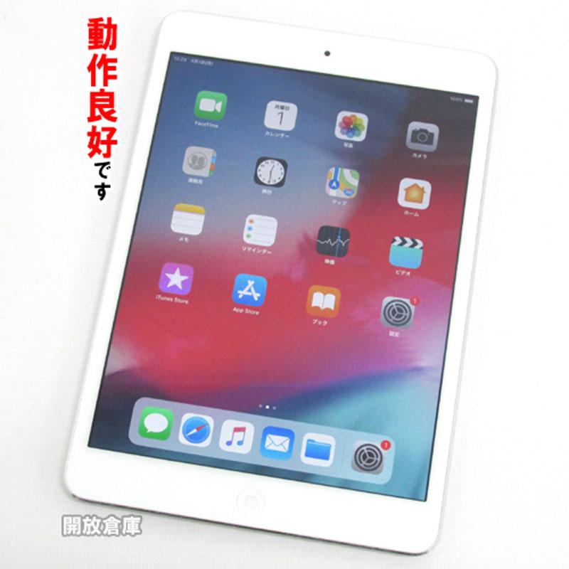 【中古】 iPad mini 2 32GB Wi-Fi シルバー ME280J/A【F9FS2RKPFCM9】【iOS 12.1.4】【タブレットPC】【山城店】