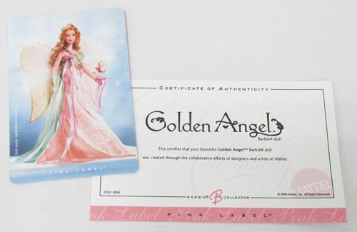 Mattel Barbie Golden Angel バービーゴールデン エンジェル J9187 (ピンクラベル)【おもちゃ】【山城店】