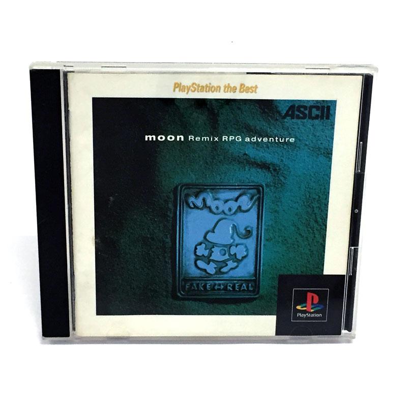 中古 クリックポスト発送可 《レトロ》PlayStation1 ム―ン 国内送料無料 moon Remix ソフト PS1 返品不可 adbenture ゲーム RPG 山城店