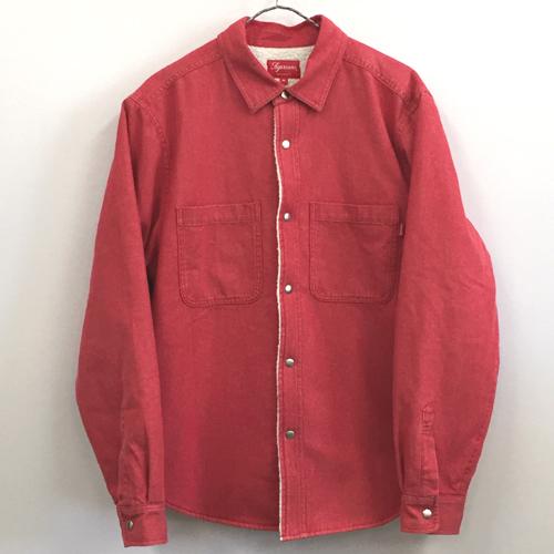 【中古】Supreme シュプリーム Sherpa Lined Denim Shirt シェルパ ラインド デニムシャツ/ストリート【メンズ古着】【山城店】