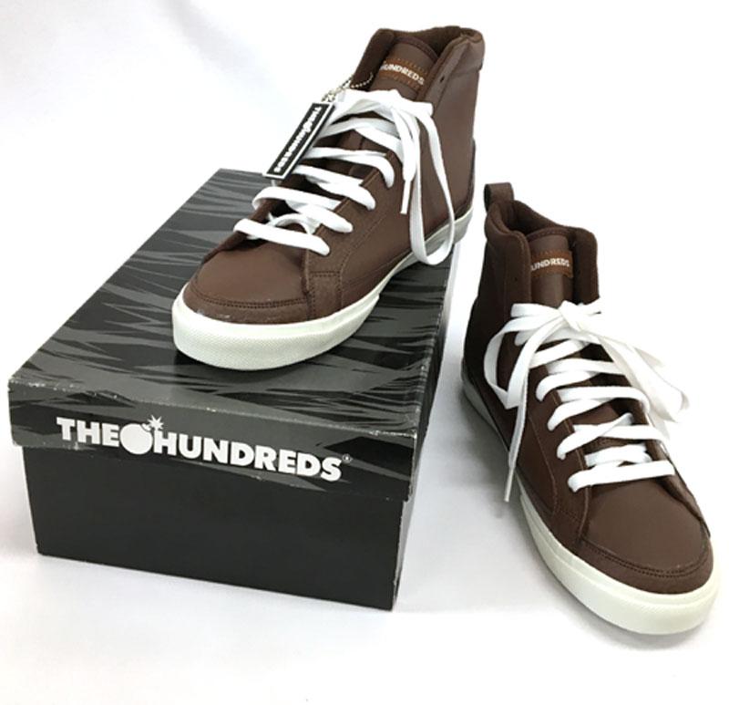 【中古】 THE HUNDREDS ザ・ハンドレッツ Wayne High Top ウェイン ハイ トップ /スニーカー【メンズ古着】【山城店】