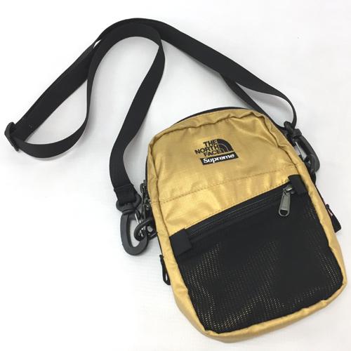【中古】Supreme×THE NORTH FACE シュプリーム×ザ・ノースフェイス Metallic Shoulder Bag メタリック ショルダーバッグ【服飾小物】【山城店】