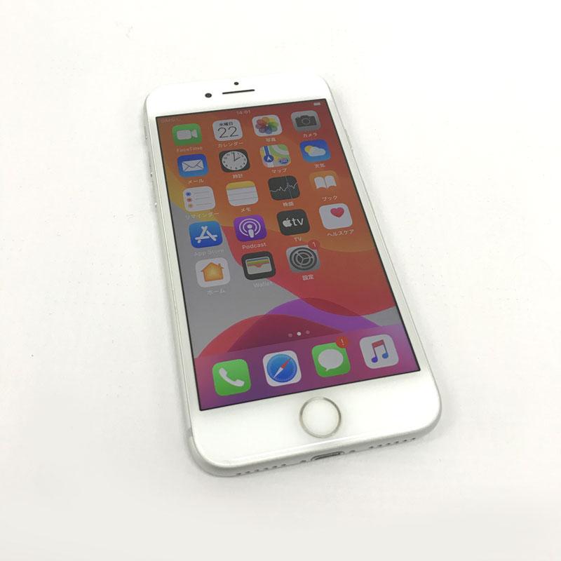 【中古】 Softbank Apple iPhone7 128GB MNCL2J/A シルバー【白ロム】【353835086920990】【利用制限: ○】【iOS 13.4】【スマホ】【山城店】