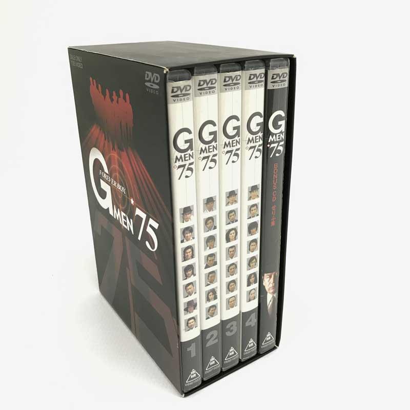 国内ドラマ【DVD部門】【山城店】 BOX(初回生産限定)/ FOREVER 【中古】《DVD》Gメン'75