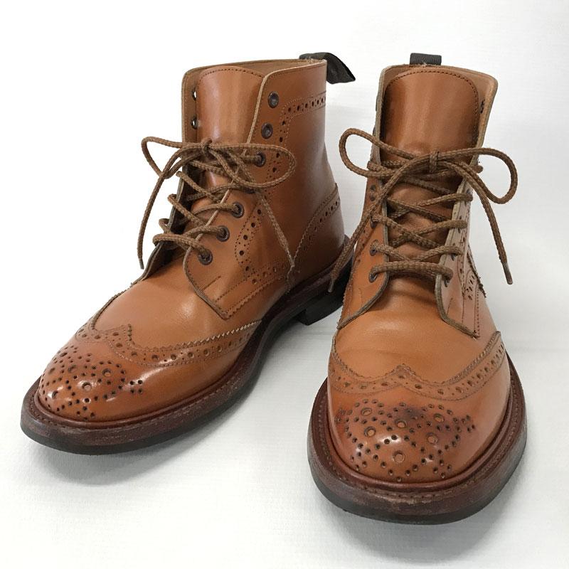 中古 Tricker's 付与 トリッカーズ 期間限定送料無料 Country Boots 他靴 山城店 カントリーブーツ メンズ古着