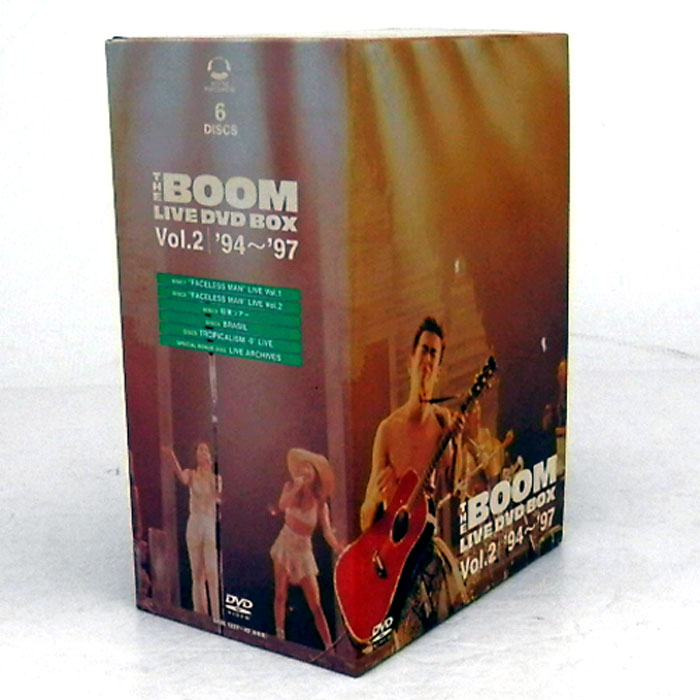 【中古】《廃盤》THE BOOM LIVE DVD BOX Vol.2 '94~'97/邦楽 DVD【CD部門】【山城店】