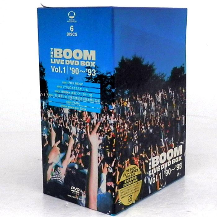 【中古】《廃盤》THE BOOM LIVE DVD BOX Vol.1 '90~'93/邦楽 DVD【CD部門】【山城店】