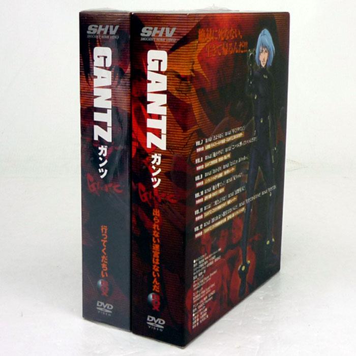 【中古】《DVD》GANTZ(ガンツ)DVD-BOX 全2巻セット/アニメ【山城店】