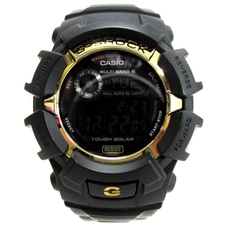 CASIO カシオ G-SHOCK ジーショック 時計/GW-2310BD-1G/ブラック×ゴールド/電波ソーラー/メンズ《腕時計/ウォッチ》【服飾小物】【中古】【山城店】