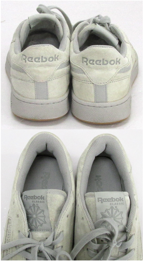 Ree bok Reebok CLUB C 85 TG club C85 size: 28cm color: Gray system sneakers shoes shoes