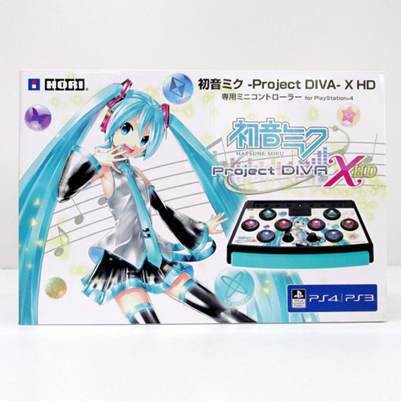【中古】HORI 初音ミク プロジェクト DIVA 専用ミニコントローラー/PS3・PS4対応【周辺機器/コントローラー】【ゲーム】【山城店】