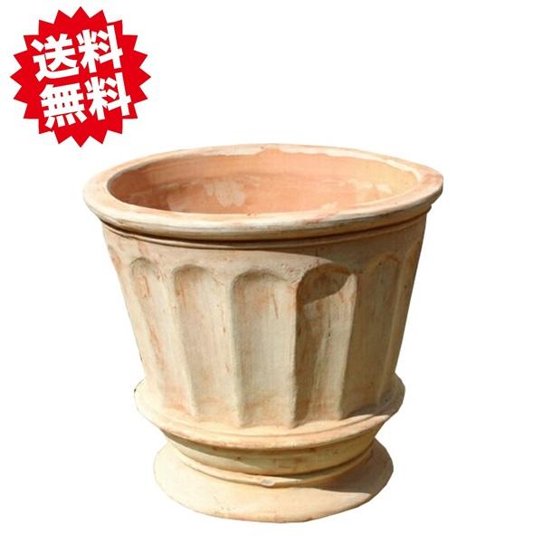 シンプルで精巧な作りのベトナムテラコッタ 2020 人気のベトナム鉢 フィリー L47 ヨーロピアンな テラコッタ 2個セット クリアランスsale!期間限定! 大型 北海道 沖縄 素焼き鉢 離島出荷不可 おしゃれな陶器鉢 植木鉢