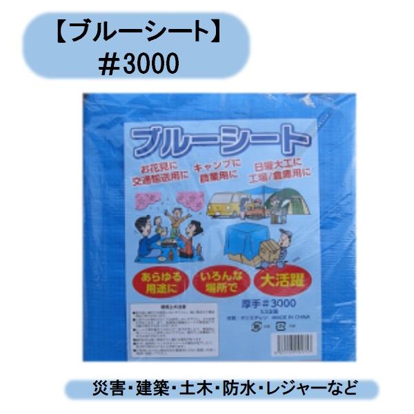 3000番ブルーシート 7.2m×9m 2枚セット シンセイ 災害被災者宅優先商品