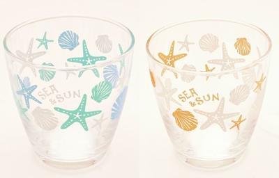 涼感と透け感のあるグラスです ○o 情熱セール ハワイアン スターフィッシュ タンブラーグラス グラス 食器 コップ o○ ヒトデ 小物入れ 日時指定 ハワイ食器 ハワイアン雑貨 ハワイアンインテリア 貝殻 西海岸風