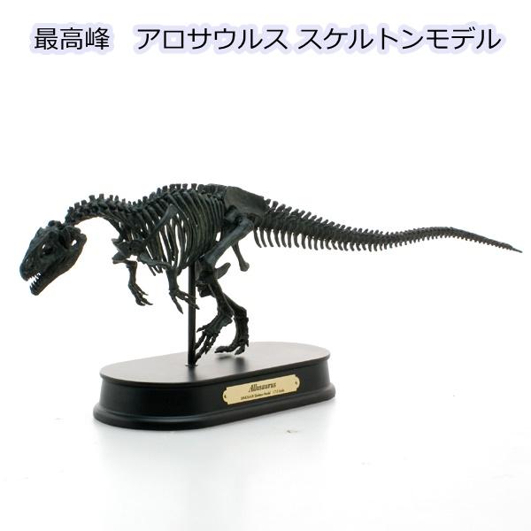 【恐竜 フィギュア】最高峰 骨格モデルアロサウルス スケルトンモデル (FDS-605BK)フェバリット(ジェラシックワールド/ジュラシックパーク/ダイナソー/)