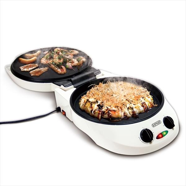 両面焼きホットプレートプレート内径28cm 焼き肉 お好み焼き ピザ下プレート800w 上プレート上プレート500w鉄板焼き 鉄板プレート