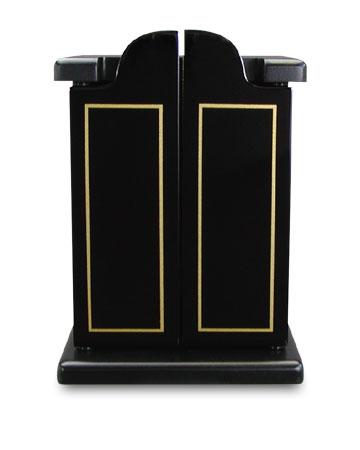 高級ペット用 『仏壇 4点セット』やすらぎ・漆黒仏壇・りん・香炉・ろうそく立