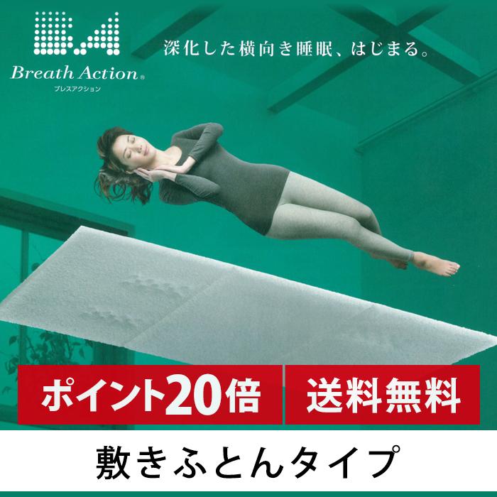 京都西川 ブレスアクション 敷きふとんタイプ Dサイズ