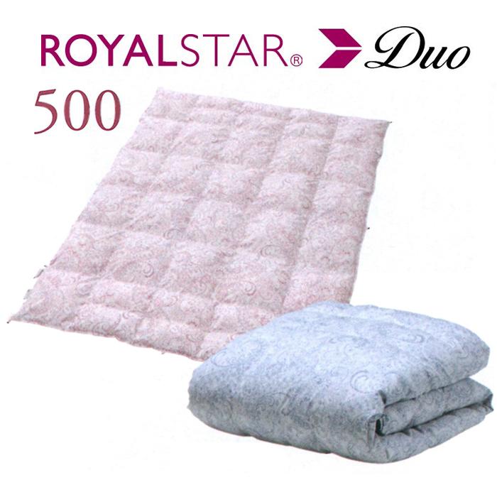 ROYAL STAR Duo ゴア(R) 羽毛ふとん ロイヤルスター(R) 羽毛肌掛けふとん 500g DLサイズ