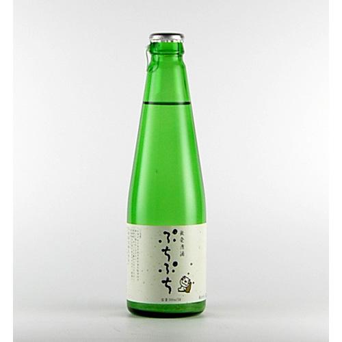 会津の地酒 末広酒造 スパークリング清酒 女性におすすめ 末廣 ぷちぷち 300ml 新着セール 早割クーポン 微発泡酒