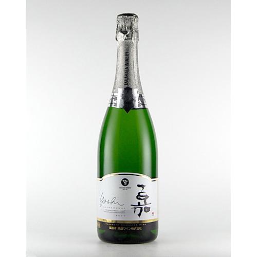 山形の高畠ワイン 超激得SALE 高畠町産の厳選した完熟シャルドネ100%使用 高畠 スパークリングシャルドネ 即納 嘉 750ml