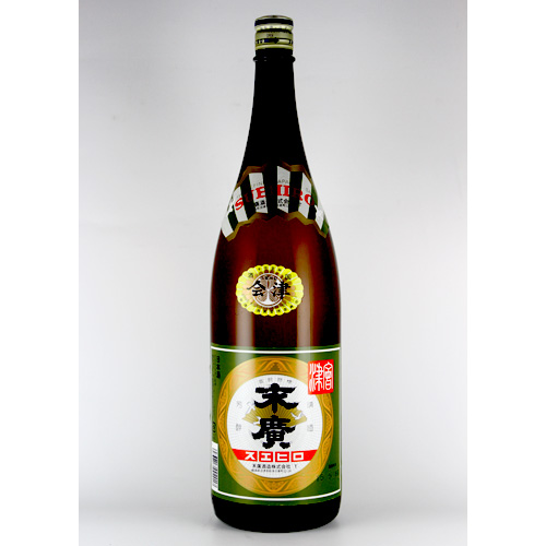 会津の定番酒の代表格 2020A W新作送料無料 輸入 末廣 1.8L 普通酒